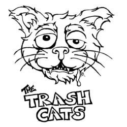 The Trash Cats Logo, Duluth Music